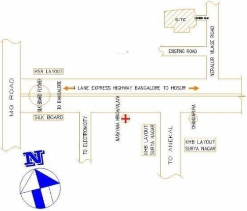 JR Meadows Location Plan