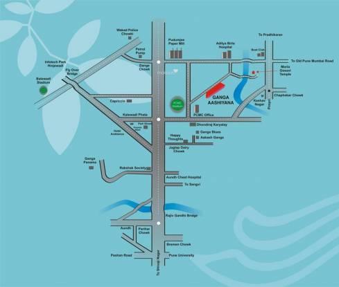 Goel Ganga Ashiyana Location Plan