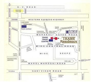 Atul Trans Residency Location Plan