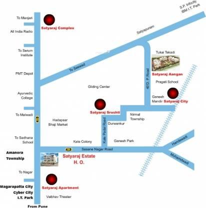 Satyaraj Aangan Location Plan