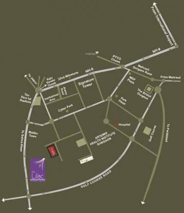 SS The Lilac Location Plan
