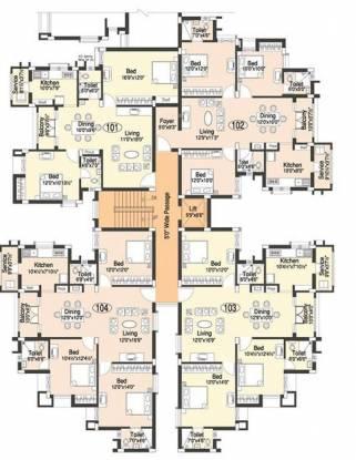 Doshi Etopia II Cluster Plan