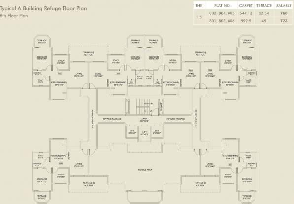 Atul Alcove Cluster Plan