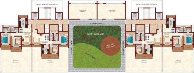 Sanghvi Arham Arcade Cluster Plan