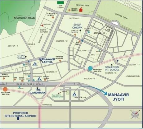Mahaavir Jyoti Location Plan