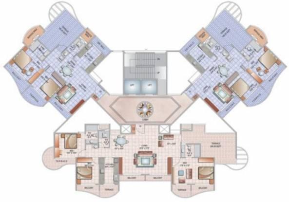 Paradise Sai Pearls Cluster Plan