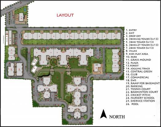 Ansal Heights Layout Plan