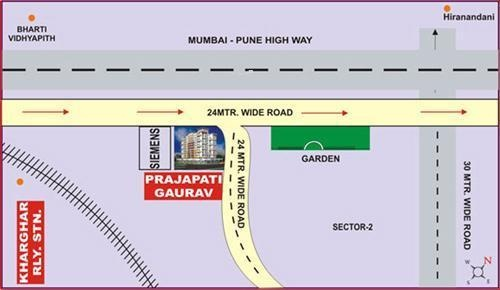 Prajapati Gaurav Location Plan