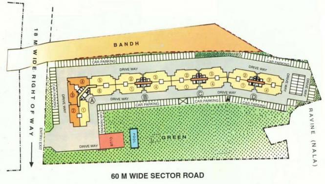 DLF Belvedere Park Site Plan