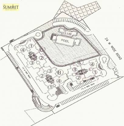 Images for Site Plan of DLF The Summit
