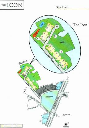 Images for Site Plan of DLF The Icon