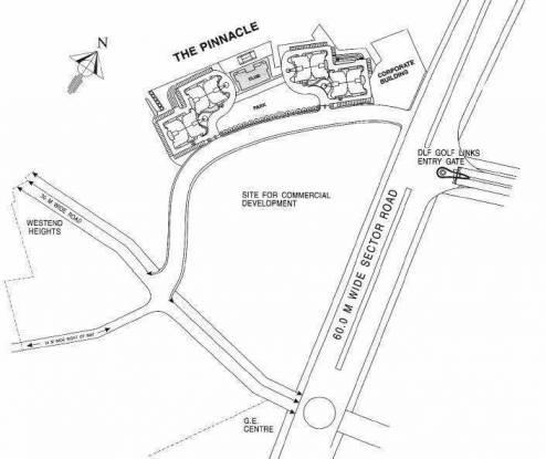 DLF Pinnacle Location Plan