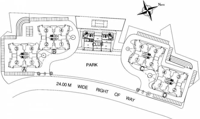 pinnacle Images for Master Plan of DLF Pinnacle