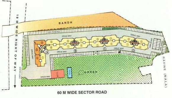 DLF Beverly Park Site Plan
