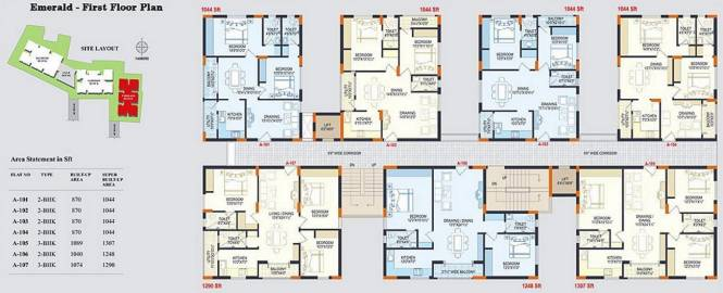 Reliance Reliance Paradise Cluster Plan
