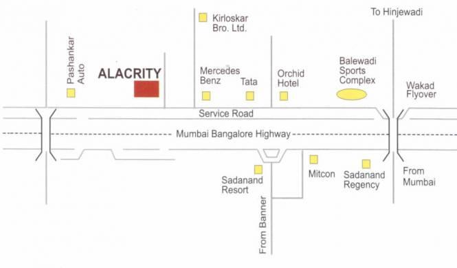 Bhandari Alacrity Location Plan