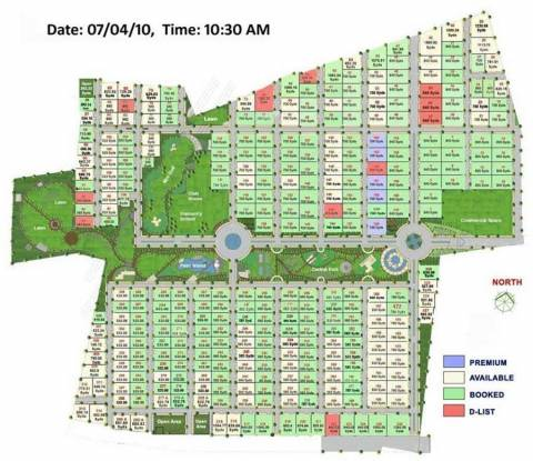 Splendid Palm Meadows Layout Plan