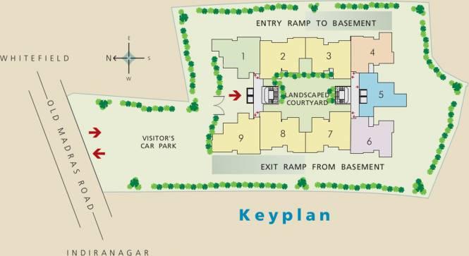 Brigade Paramount Site Plan
