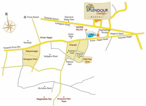 PS Splendour County Location Plan