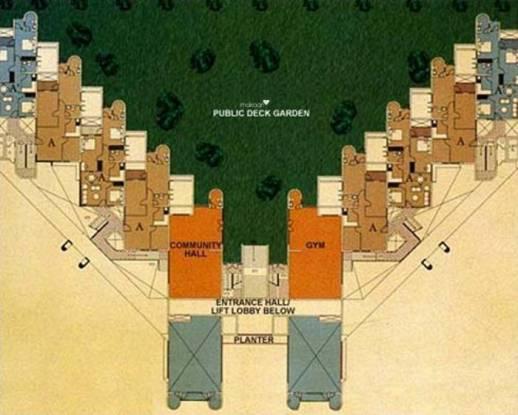Shrachi Greenwood Nook Cluster Plan