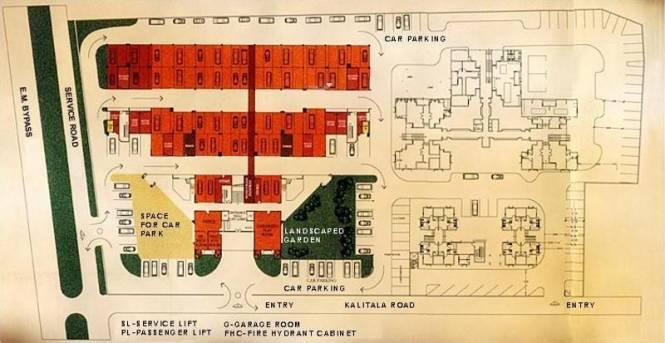 Shrachi Greenwood Nook Site Plan