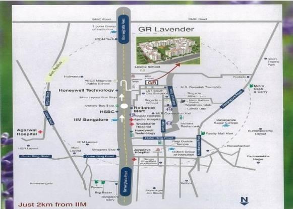 GR GR Lavender Location Plan