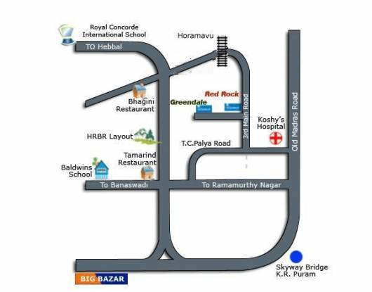 Oceanus Greendale Phase I Location Plan