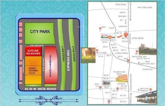 Divine Divine Meadows Location Plan