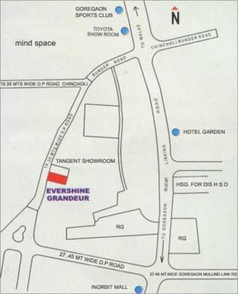 Evershine Grandeur Location Plan