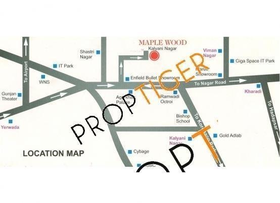 Mirchandani Maple Wood Location Plan