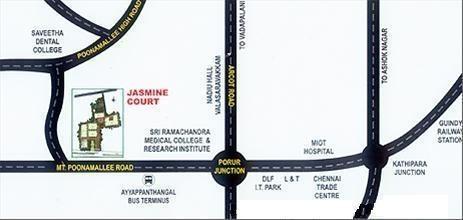 ETA Jasmine Court Location Plan