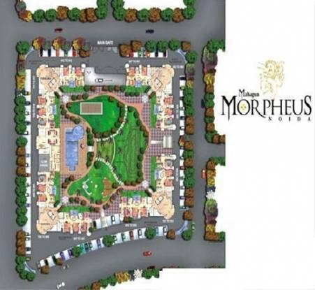 Mahagun Morpheus Site Plan