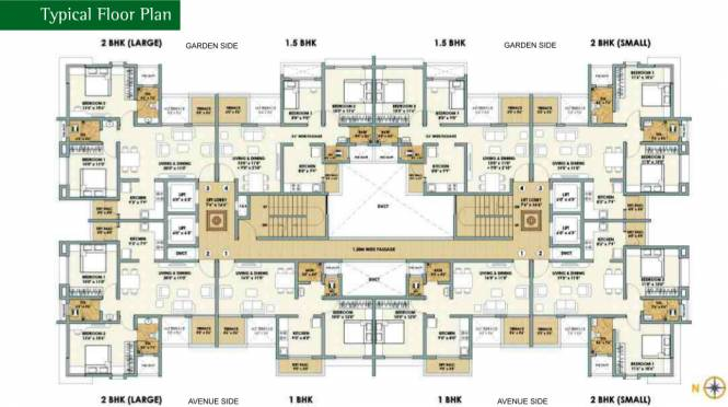 Aurum Elementto Cluster Plan