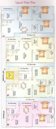 Sai Lake Shore Serenity Cluster Plan