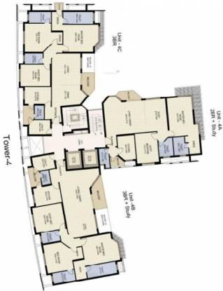 Jaypee The Star Court Cluster Plan