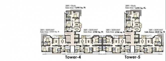 Jaypee Moon Court Cluster Plan