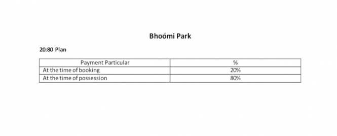 park Construction Linked Payment (CLP)
