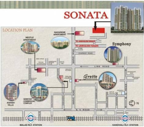 Gemstar Sonata Location Plan