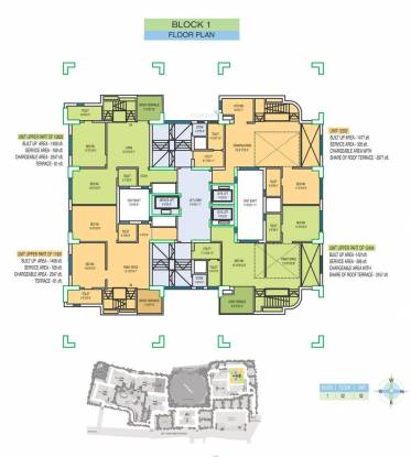 Fort Oasis Apartment Cluster Plan