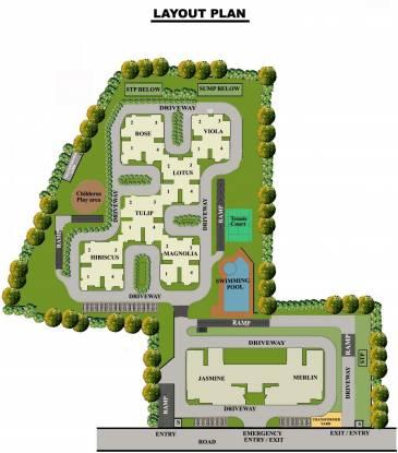 Oceanus Greendale IInd Phase Layout Plan