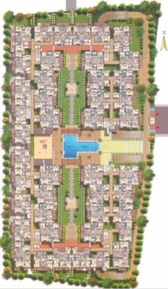 Fortuna Center Park Cluster Plan