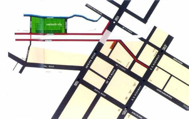 Dharmadev Neelkanth Villa Location Plan
