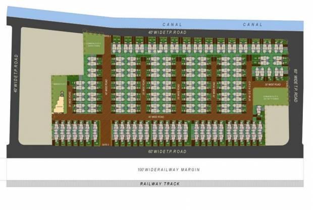 Dharmadev Neelkanth Villa Site Plan