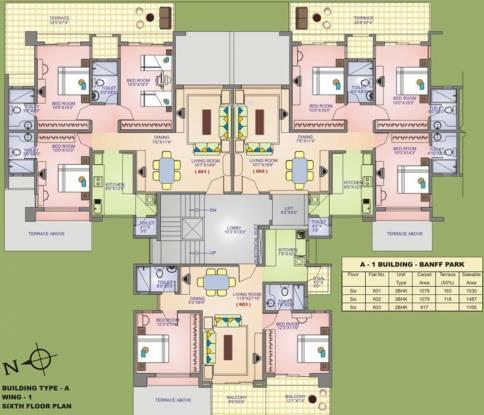Raviraj Park Island Cluster Plan
