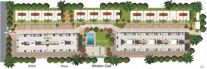 Aditya Breeze Park Layout Plan