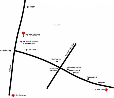 PS Magnum Location Plan