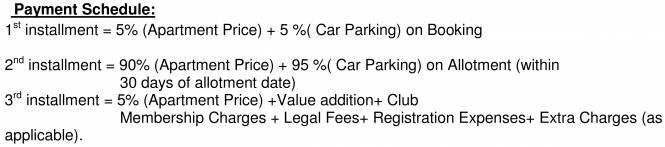 Shrachi Rosedale Garden Payment Plan