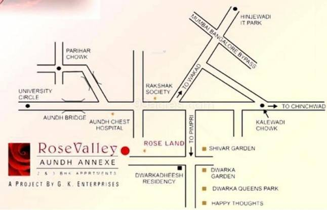 GK Rose Valley Location Plan
