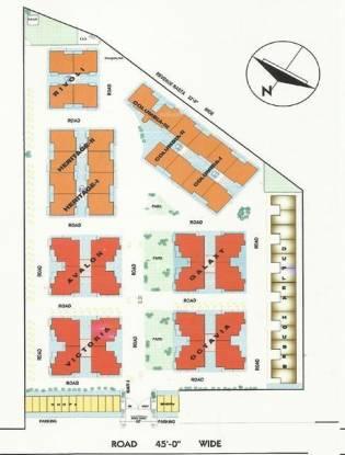 Opera Chandigarh Enclave Layout Plan