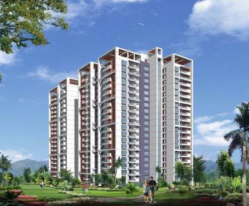 Meenakshi Trident Towers Elevation